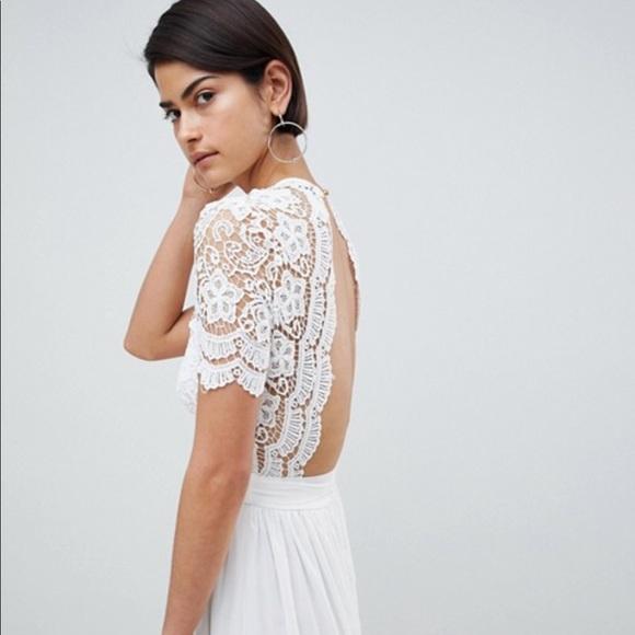 Asos Wedding Dress.Asos Wedding Dress Nwt